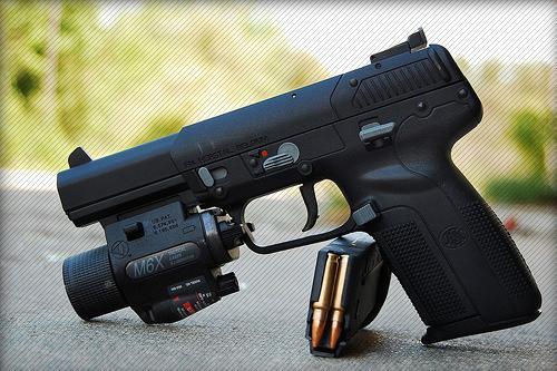 Пистолет fn five seven бельгия