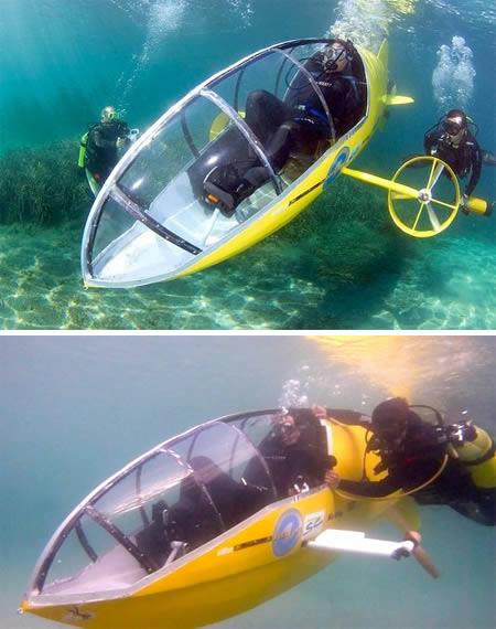 самая маленькая в мире подводная лодка фото